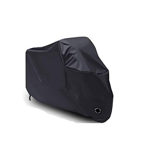 YXX- Couvertures de meubles La moto coupe-vent noire de protection solaire couvre de 5, protection UV extérieure de protection antipluie de voiture électrique (taille : 200x90x100cm)