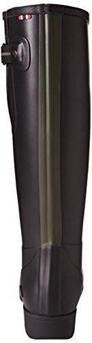 Viking Elvida, Bottes en caoutchouc non-fourrées, tige haute femme Noir - Schwarz (Black/Olive 237)