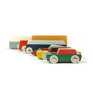 Ikonic Toys 190200 Duotone Cars - Juego Completo de Figuras de Juguete