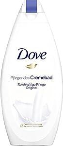 Dove Nourrissant de bain crème riche soin original, lot de 4 (4 x 750 ml)