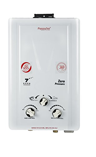 Signoracare SCGWH-1007 Gas Water Heater (White)