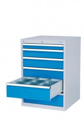 Schubladenschrank Werkzeugschrank B/TH: 705/736/1019 mm mit 6 Schubladen