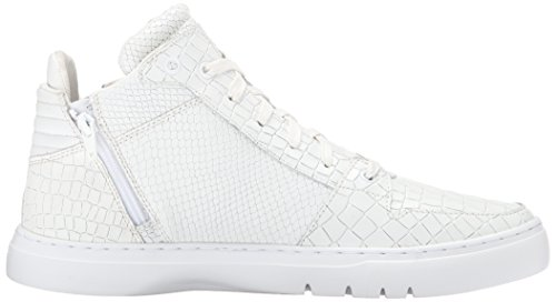 Creative Recreation Adonis Mid, Sneakers Hautes homme White Crocodile Snake