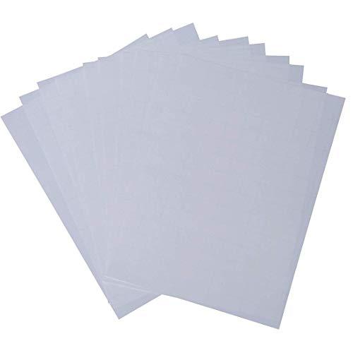 Trasferimento 10pcs Craft Calore Carta Chic A4 di trasferimento di ricambio carta della pressa di calore carta da stampa Luce Tessuto Carta per T Shirts