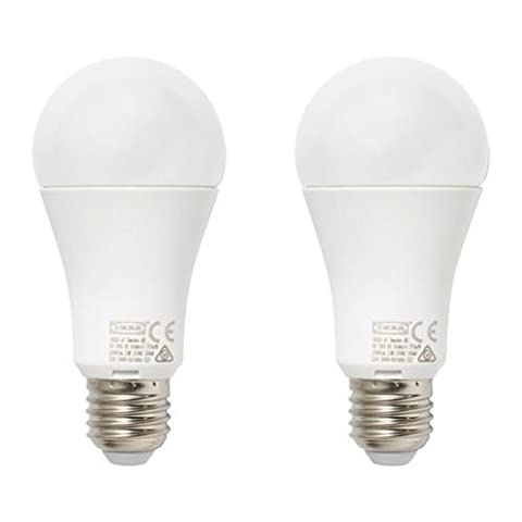 ryet–LED Birne E271000Lumen, Globe Globe opal weiß