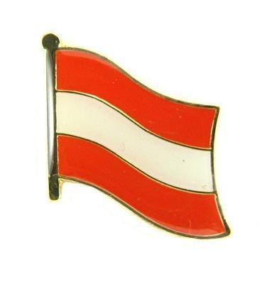 Flaggen Pin Österreich Anstecknadel Fahne Flagge FLAGGENMAE®