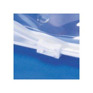 Dalbags 50 PZ Sacchetto Trasparente con Chiusura a Cursore 70 micron Formato 200X150 mm