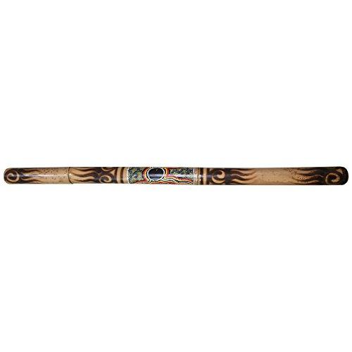 Ciffre 120cm Holz Didgeridoo Bambus Bemalt Dotpaint Fair Trade Didge Musik M15