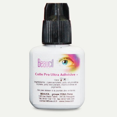 Colle PRO BEAUCIL EXTENSIONS DE CILS- Méthode Cil à Cil et Volume Russe - 10 ml, promo flash lashes glue Pro Grade