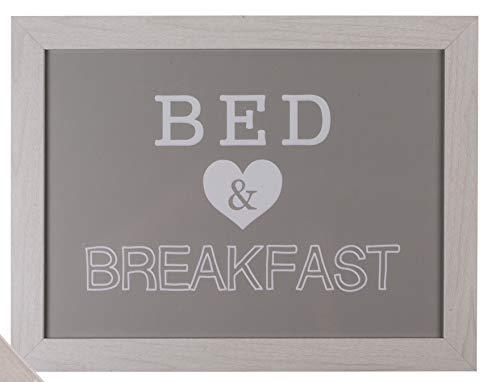 MC Trend Knietablett Kissentablett mit Kissen perfekt für Kinder Auto Reise Laptop Bett Couch (Bed & Breakfast)