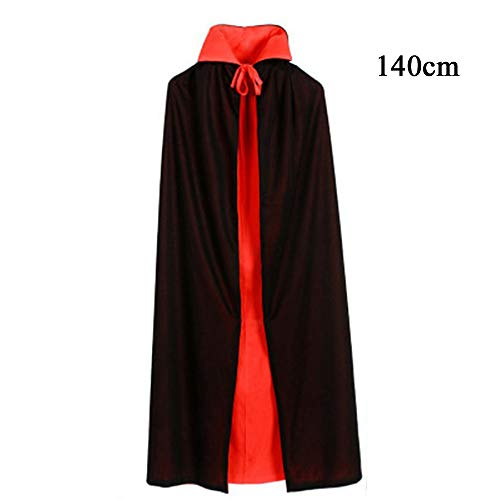 Kostüm Teufel Umhang - Erwachsene Tod Umhang, Teufel Kostüm Samt