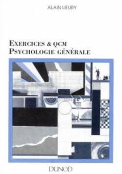 Exercices et QCM, psychologie générale