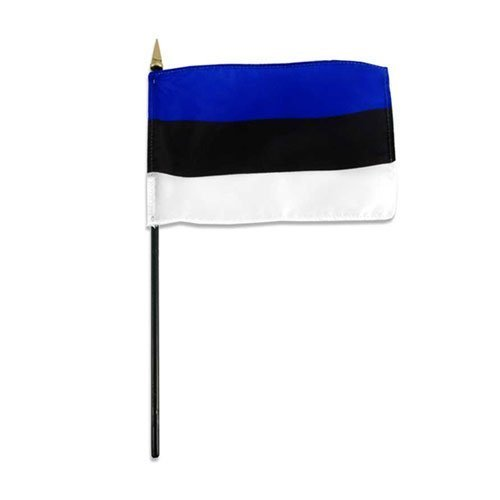 PST Tischflaggen Estland (12 Stück)