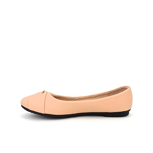 Cendriyon Ballerine Color Champagne Elena Chaussures Femme Rose