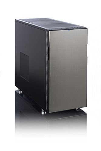 Fractal Design Define R5 Titanium Grey, PC Gehäuse (Midi Tower) Case Modding für (High End) Gaming PC, grau