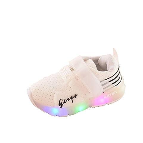 Baby Shoes Autumn Toddler Sport Running Boys Girls LED Luminous