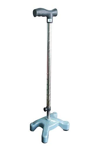 Vitane Pharmaceuticals Pvt. Ltd. Vitane Quadripod Walking Stick/Poor Balance/Senior Citizen/Old People