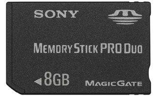 Sony - Memory Stick Pro Duo Speicherkarte (8GB) -