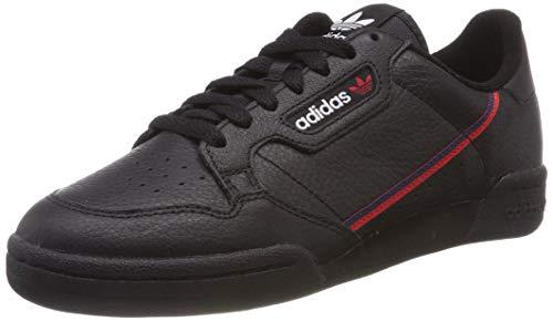 adidas Herren Continental 80 Fitnessschuhe Schwarz (Negbás/Escarl/Maruni 000) 44 EU