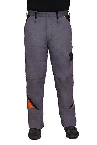 Arbeitshose (Bundhose Arbeitshose Arbeitskleidung Hose 320g/m2, grau PROFESSIONAL, Gr. 46-64 (50, grau))
