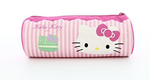 Image of Hello Kitty Barrel Pencil Case