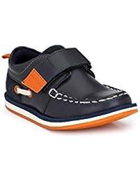56977d9e32fe Tuskey Genuine Leather Breathable Velcro Antiskid Mocassin Shoes for Kids    Boys