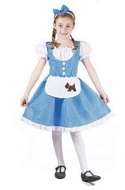 Dorothy Kinder Kostüm Kleid Größe L Mädchen Karneval OZ 50132