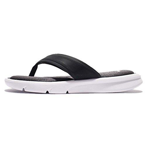 Nike Womens Ultra Comfort Thong Anthracite/White/White Sandal 10 Women US -