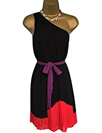 New - Absolutely Gorgeous Black Pleated Next Dress UK 8 RRP £60.00