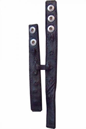 Double Cockstrap small Pin Prick aus Leder (Pin-prick)