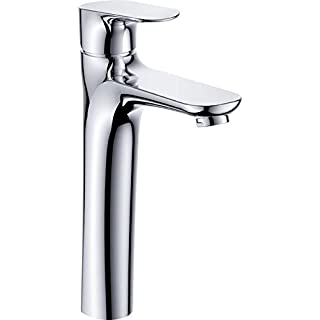 Aquatrend FF35137-6H Simple Installation Solid Brass Construction Polished Chrome Bathroom Basin Tap