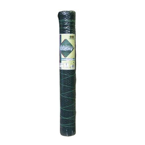 Sechseckgeflecht 25m Rolle | 13mm Maschenweite | 500mm hoch grün - Türschloss Rollen