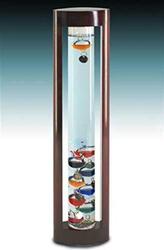 CAPRILO Termómetro Decorativo Cristal Galileo Adornos