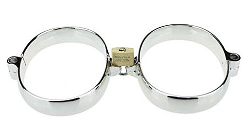 Gtopart Herren Handschelle aus Zinklegierung mit Schloß und Schlüßel (Fuß) -