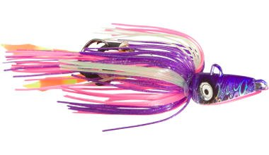 Braid Sea Fox Jig, 5 Haken, 4 1/4 Unzen, Violett/Pink -