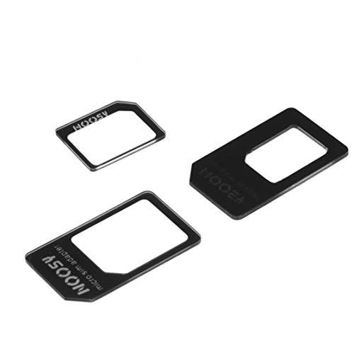 Preisvergleich Produktbild LouiseEvel215 Großhandel SIM MICROSIM Adapter Adapter 3 in 1 für Nano SIM auf Micro Standard für Apple für iPhone 5 5g 5. Hohe Qualität