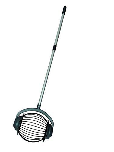 UPP Rollsammler GROß MIT 110cm Aluminium-TELESKOPGRIFF/Obstsammler / Apfelsammler/Nusssammler / Fallobstsammler/Roll / Blitz/Obstpflücker / Walnusssammler/Tennisballsammler / Golfballsammler
