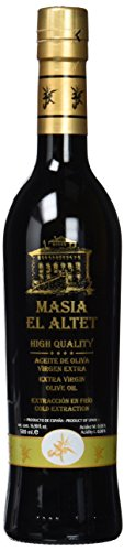 Masia el Altet Spanisches Natives Olivenöl Extra, 1er Pack (1 x 500 ml) - Banane Olivenöl