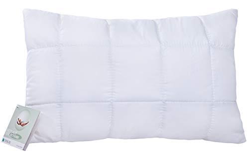 moebelfrank Kinderkopfkissen mit Tencel Kissen 40x60 höhenverstellbar 60 Grad waschbar