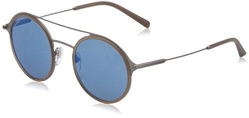Bulgari Herren 0BV5042 195/55 50 Sonnenbrille, Grau (Matte Grey/Darkblueemirrorbluee)