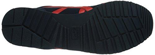 ASICS Curreo, Unisex-Erwachsene Sneakers Blau (NAVY/FIERY RED 5023)