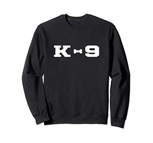 K-9 Officer K9 Unit Police Dog Handler Canine Trainer Bone Sweatshirt -