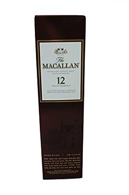 Macallan - 12 Year Old - 40% - 50ml Sample