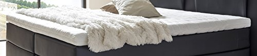 DaMi 3D Kaltschaum Topper 6 cm in H2 | Matratzenauflage Atmungsaktiv für Allergiker | Anti Schwitzen | Keine Kuhlenbildung | Made in Germany (100x200 cm)