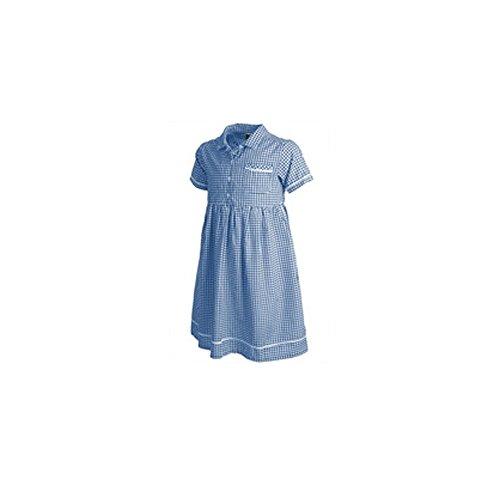 PEX Gingham Summer Dress Blue 9Y