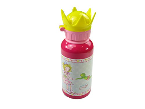 Die Spiegelburg Alu-Trinkflasche m. Kronendeckel Prinzessin Lillifee prinzess...