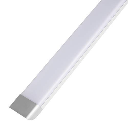 45W LED Röhren Licht Deckenleucht 90CM,3000LM,6500K Kaltweiß,Augenschutz Energieeinsparung LED Röhre,LED Lineare Lampe für Büro Wohnzimmer Badzimmer Wohnzimmer Küche Garage Lager Fabrik Werkstattraum