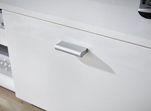 Germania 3666-84 Lowboard Holz, weiß - 6