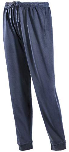 PHINOMEN Bequeme dunkel-Blaue Jogginghose Größe XXL - Unisex Classic Model mit Seitentaschen und Bündchen - Freizeithose für jeden Tag auch für Damen