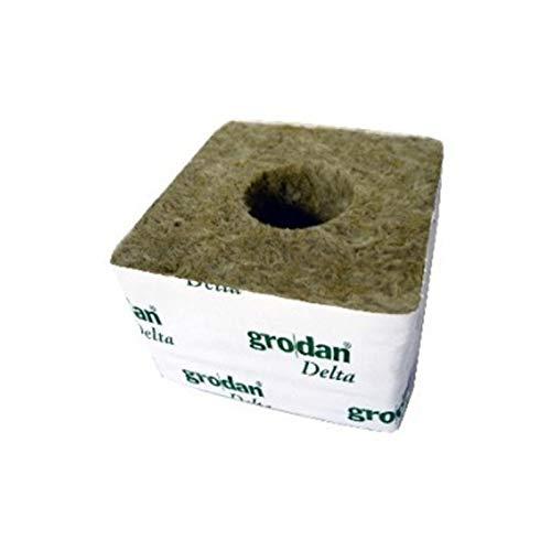 10 Cubes de laine de roche 100 x 100 x 65 - Grodan